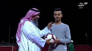 الفائزين بجوائز الهيئة العامة للرياضة في مباراة الوحدة و أُحد في الجولة 21