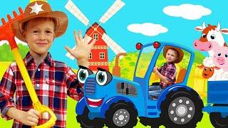 У Старого Макдональда ферма была | Детские песни от Alex and Nastya