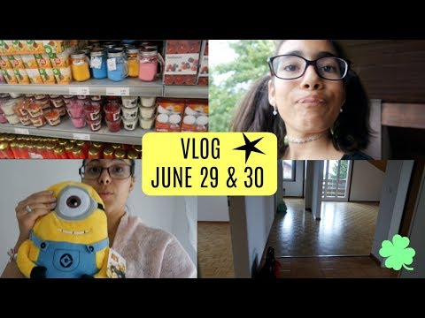VLOG: June 29-30, new mum's home, shopping, night with babe.