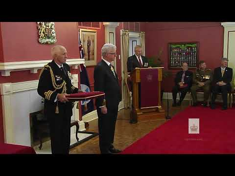 Queensland Investiture Ceremony - 2pm, 12 September 2017