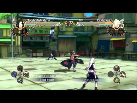 Naruto Shippuden: Ultimate Ninja Storm 2: PS360HD2 vs Fastdman  
