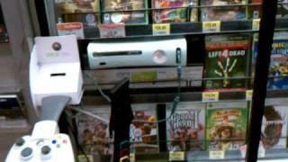 Broken xbox360 in Walmart
