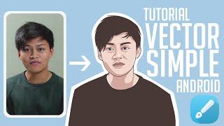 Cara Membuat Vector Simple Style Untuk Pemula Android | Infinite Design