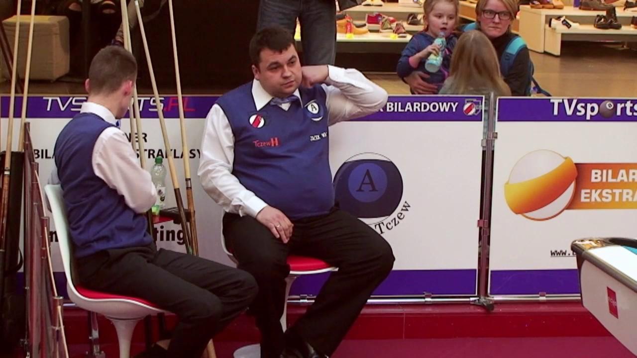 Bilardowa Ekstraklasa PZBil 2017 – Arkadia vs Duet