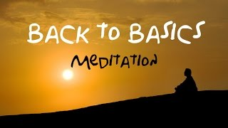 Back To Basics Guided Meditation: For beginners & returning meditation users thumbnail
