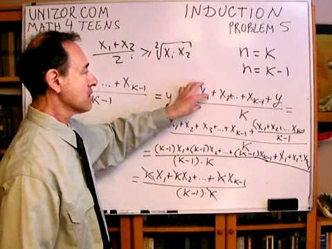 Unizor - Math Concepts - Mathematical Induction - Problem 5