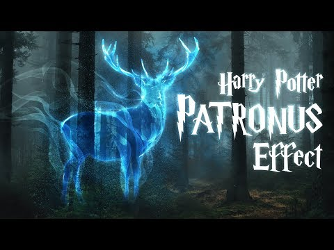 "Photoshop: The PATRONUS Effect From Harry Potter! ""Expecto Patronum!"""