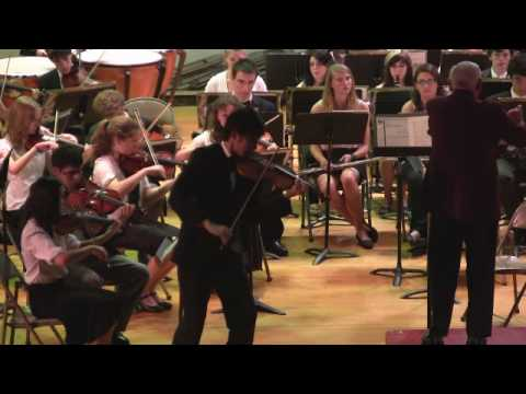 Meditation from Thais - David Kim, Violin Solo, Long Island Youth Orchestra