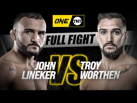 John Lineker vs. Troy Worthen | ONE Championship Full Fight