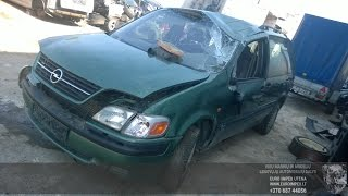 Car recycler parts Opel Sintra, 1996.11 - 1999.04 2.2 DTI 85kW Mechanical