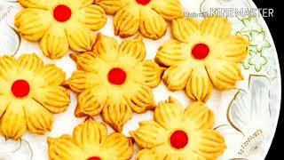 Biscuit Pitha || বিস্কুট পিঠা || Nokshe Pitha Recipe