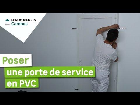 Comment Poser En Applique Une Porte De Service En Pvc