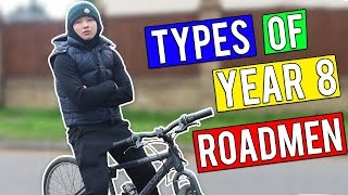 One of Johnny Carey's most viewed videos: TYPES OF YEAR 8 ROADMEN!