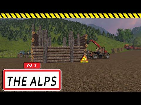 Constructeur de l'extrême / CONSTRUIRE UNE MAISON EN BOIS ET EN PAILLES / Farming simulator 15