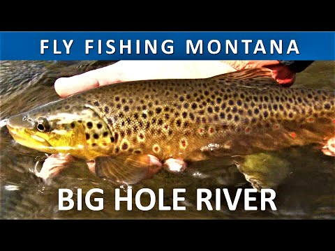 Fly Fishing Montana Big Hole River - Above Jerry Creek In September Season 3 Episode 1