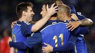 Argentina vs Trinidad & Tobago 3:0 Highlights