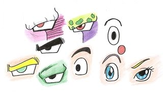 How to draw : Dragon Ball Eyes