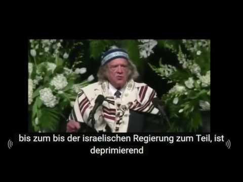 Schluss mit dem Hass gegen Muslime! Helft Palästina! Beisetzung Muhammad Ali - Rabbi Michael Lerner