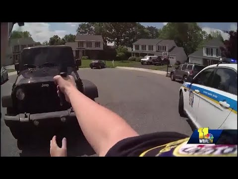Officer Caprio's body-worn camera video showed to jurors in Harris murder trial
