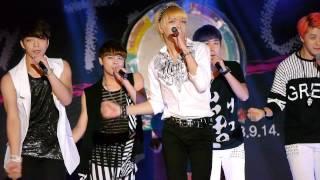[Fancam/직캠] 젊은부산 꿈 토크콘 뉴어스 (New Us)  - 러브패닉 (Love Panic) Mp3
