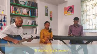 &quotIt matters to the master&quot(cover)