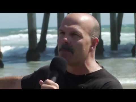 Baptism at Huntington Beach