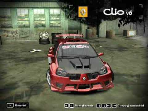 need for speed most wanted my renault clio v6 youtube