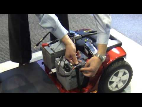 Car Battery Wiring Diagram Time Delay Relay Circuit How To Change Mobility Scooter Batteries Youtube
