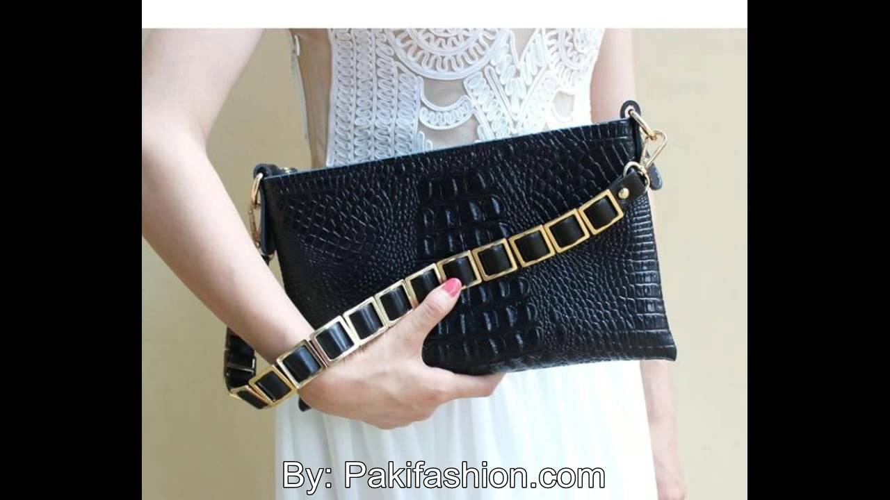 9ef15a0e89 Latest Ladies Handbags & clutches Designer Collection - YouTube