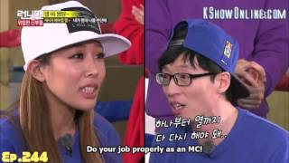 [ENG SUB] Running Man Tell Me Something Game Yoo Jae Suk & Jessi All Parts