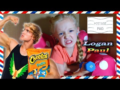 Thumbnail: I Mailed Myself in a Box to Logan Paul! IT WORKED!! I Work Out & Meet Jake's Brother (Skit)