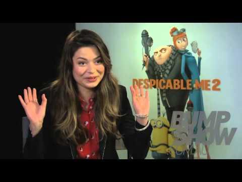 Despicable Me 2 Interview Miranda Cosgrove - YouTube