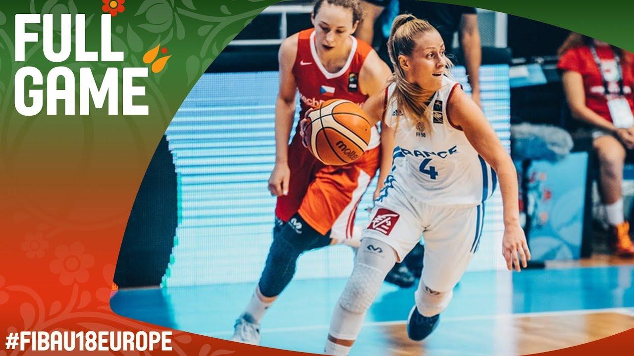 France v Czech Republic - Full Game - 3rd Place - FIBA U18 Women's European Championship 2017