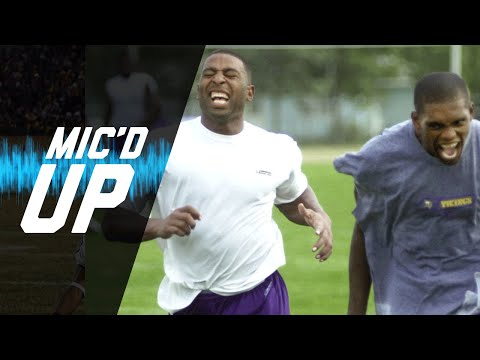 Randy Moss & Cris Carter Mic'd Up | #MicdUpMondays | NFL