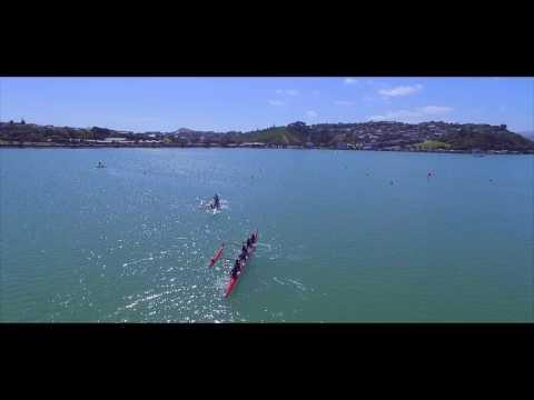 Regional Waka Ama Competition at Porirua Harbour
