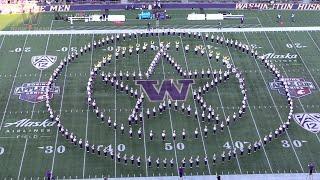 Husky Marching Band   Washington vs. WSU   Halftime - Music of Marvel (11.29.19)