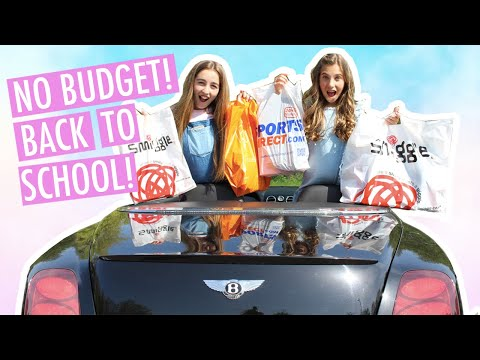BACK TO SCHOOL Shopping Haul 2019 | NO BUDGET | Rosie McClelland