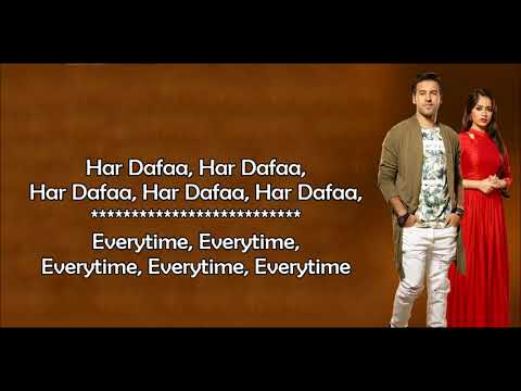 Har Dafa   Rahul Jain   Tu Aashiqui Colors   Lyrical Video With Translation   YouTube