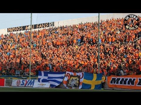 Ultras World in Nicosia - APOEL vs AEL (22.04.2014)