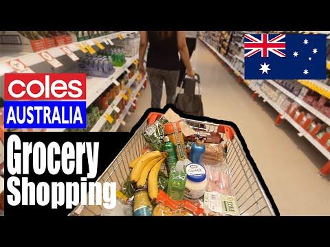 Grocery Shopping At Coles In Australia I Fish Market I Buying swimwear I Target Sydney