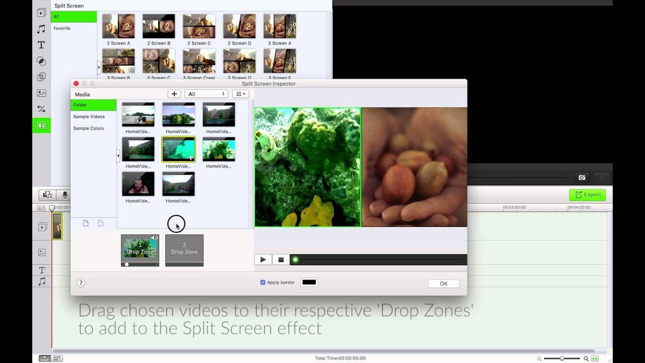 Filmora Video Editor- How to Use Split Screen Mode to ...