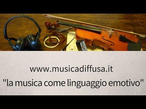 la musica come linguaggio emotivo