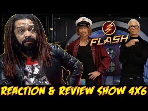 """The Flash Season 4 Episode 6 Reaction & Review Show (""""When Harry Met Harry"""")"""
