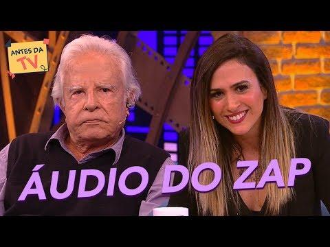 Cid Moreira grava áudios HILÁRIOS para o zap da Tatá Werneck!  | Lady Night | Humor Multishow