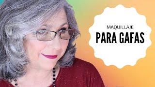 😎 MAQUILLAJE FÁCIL PARA AGRANDAR LOS OJOS CON GAFAS 😎 Makeupmasde40