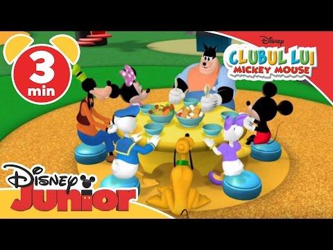 Clubul lui Mickey Mouse - Fructele și legumele lui Minnie. Doar la Disney Junior!