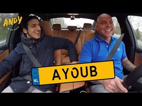 Bij Andy in de auto - Ayoub