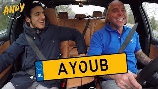 Yassin Ayoub - Bij Andy in de auto