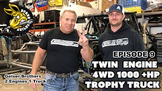 Geiser Twin Engine 4WD Trophy Truck - Burro builds 009