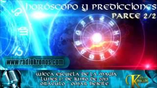 ORACULO HOROSCOPO Y PREDICCIONES parte 2/2